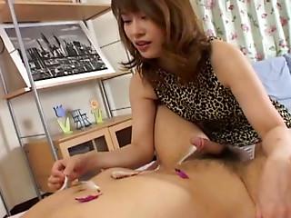 Chubby guy wants BDSM treatment from Reimi Matsukawa