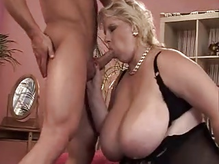 BBW Mature and Young Boy By TROC