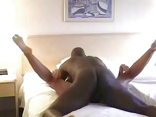 White wife slut getting hard fucked by BBC