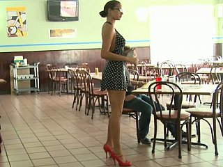 Cash Talks crew is running a restaurant. No sex