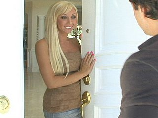 Youthful blond and hot sister's ally