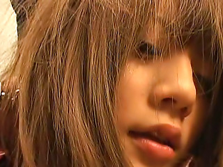 Risa Tsukino is a nice Japanese teen
