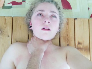 Cum Hungry Girl Fucked On A Table