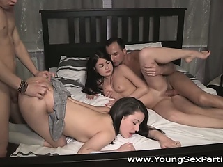 Young Sex Parties - Team up for a sex party fuck