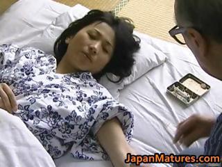 Hot Asian babe has mature sex part5