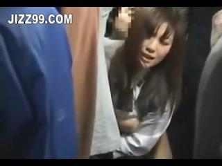 japanese schoolgirl creampie fucked on bus 02