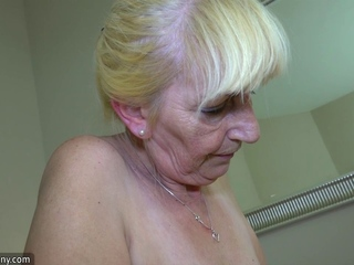 Old granny young lesbian sex