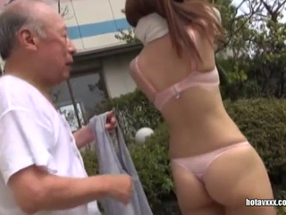 Japanese Busty Girls Sex Service For Old Perverts
