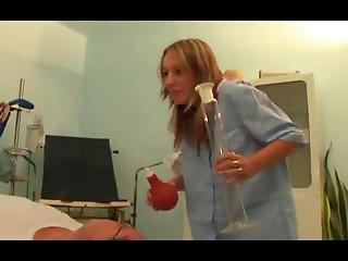 juvenile angels have a fun sex with the matured doctor
