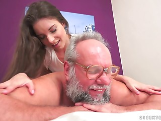 Anita just likes to ride the experienced kinds of dicks!