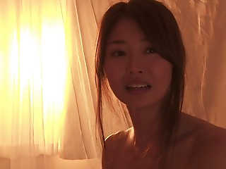 Petite breasts Japanese young slut groans with a penis inside her