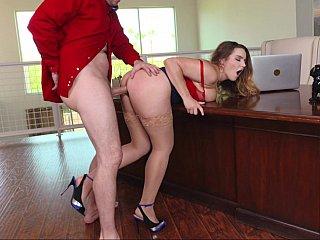Sexy office sex