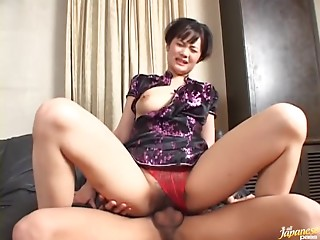 Wild Exotic MILF Mako Takeda Acquires Drilled By her Youthful Boyfriend