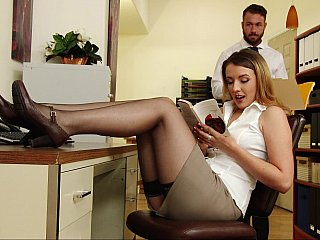Making up for her boss