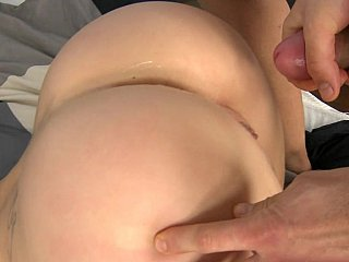 Ginna gets fucked by a landlord